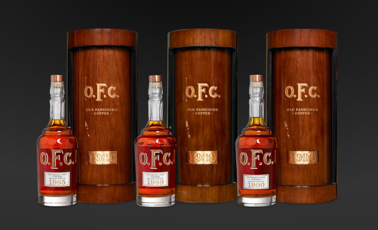 Three O.F.C. Canisters